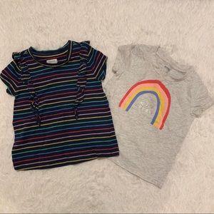 Bundle Gymboree t-shirts 18-24 months